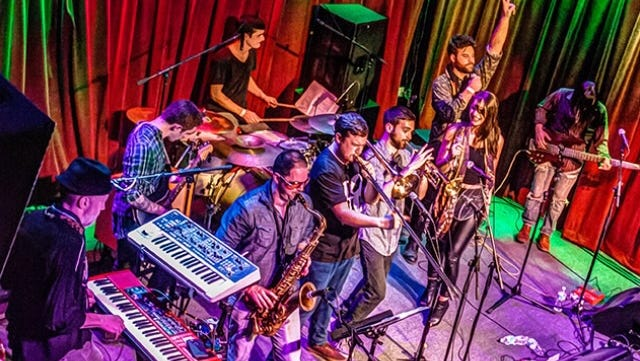 Philadelphia funk act Swift Technique will play a free show at the Dogfish Head brewpub in downtown Rehoboth Beach at 10 p.m. Friday, Dec. 15.