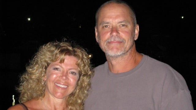 Paul Janszen with his wife Danita Marcum.
