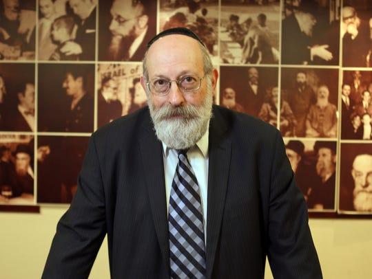 Rabbi Avi Shafran, director of public affairs for Agudath