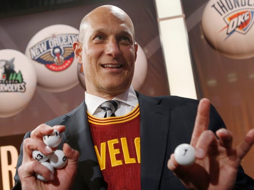 The Cavaliers defied the odds by winning the top pick in the NBA draft. With June 26 around the corner, this is the order teams will make their first-round selections: