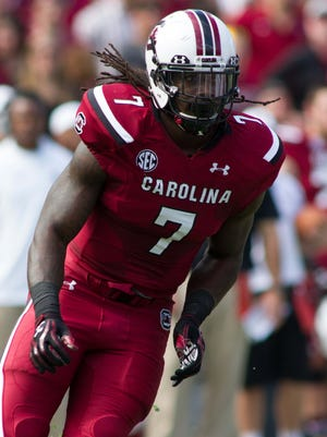Jadeveon Clowney will play his final college game against Wisconsin in the Capital One Bowl.