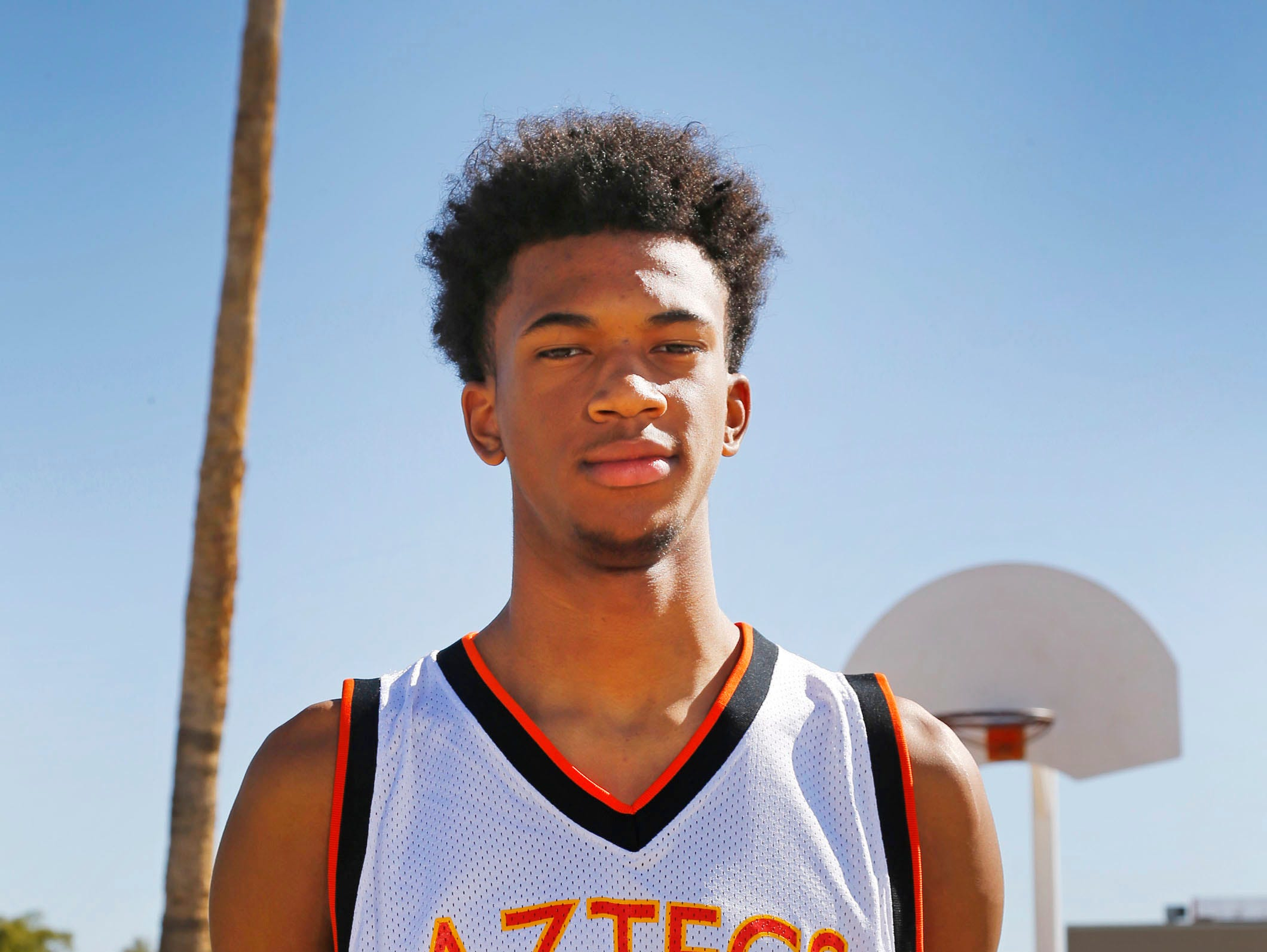 All-Arizona boys basketball player Marvin Bagley III of Corona del Sol was named a CBS Max Preps All-American.