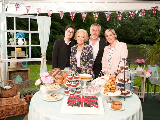 Sue Perkins, Mary Berry, Paul Hollywood and Mel Giedroyc