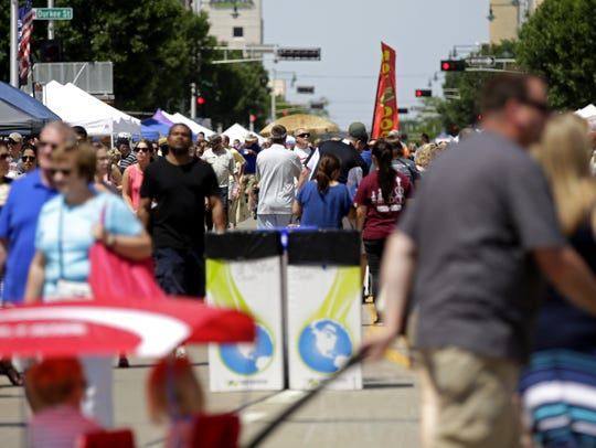 The Downtown Appleton Farm Market moves outside for the season June 16.