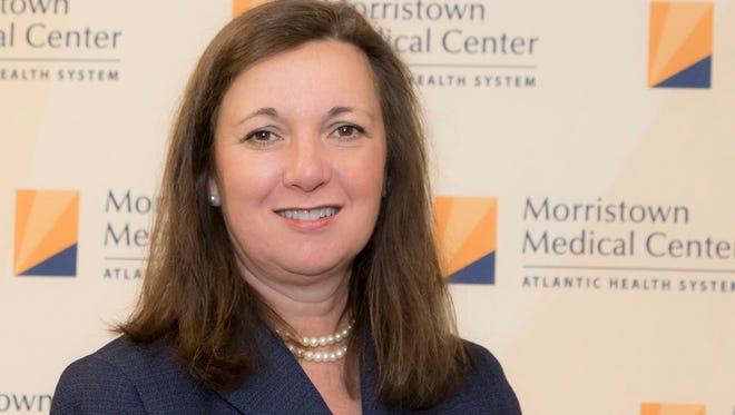 Trish O'Keefe has been named president of Morristown Medical Center.