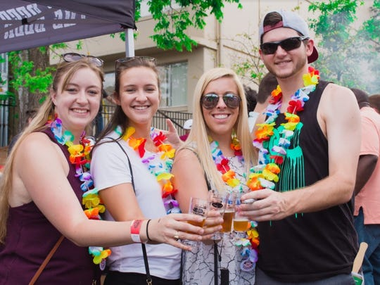 Roughly 200 people attended the inaugural Tallahassee Burgers and Brews Festival in 2015, but the event has grown every year and as many as 600 are expected on Saturday at the Brass Tap's Midtown location