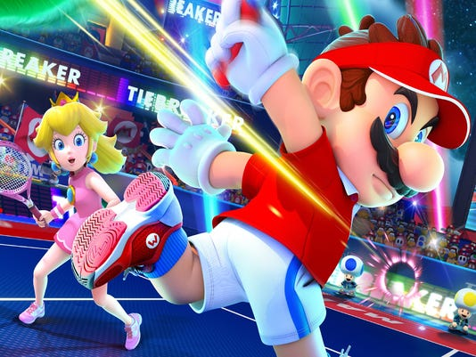 Mario Tennis Aces for the Switch.