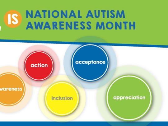 April is National Autism Awareness Month.