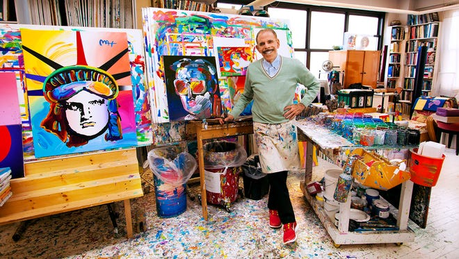 Peter Max is a German-born American illustrator and graphic artist known for the use of psychedelic shapes and color palettes as well as spectra in his work.