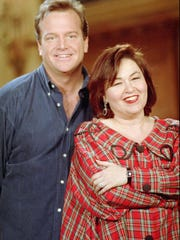 Tom Arnold and Roseanne were married from 1990 to 1994. During that time, it was one of the highest-profile marriages in show business.
