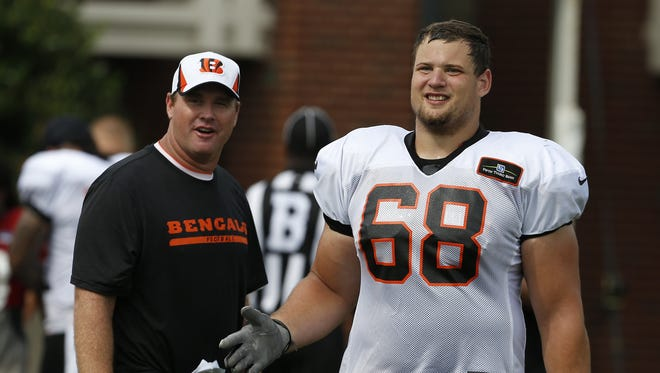 Kevin Zeitler had his fifth-year option picked up by the Bengals.