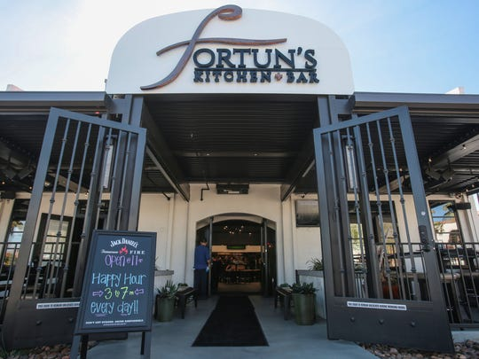 Fortun's Kitchen and Bar in La Quinta on Thursday, February 9, 2017.