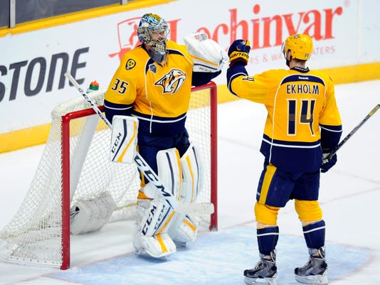 USP NHL: WINNIPEG JETS AT NASHVILLE PREDATORS S HKN USA TN