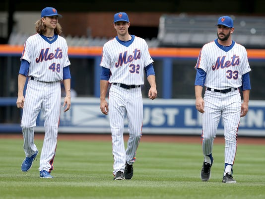 Jacob deGrom, Steven Matz,  Matt Harvey