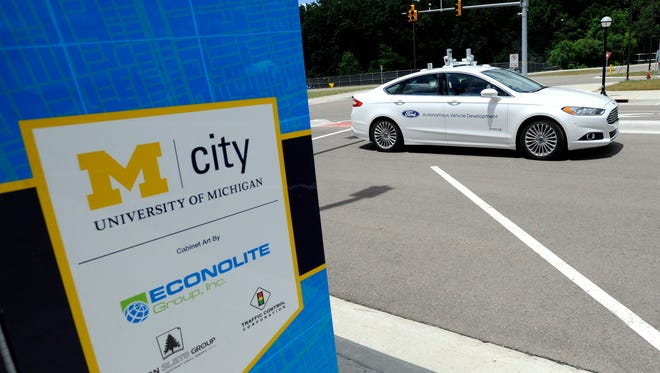 Michigan has two of the leading permanent mobility proving grounds, MCity and the American Center for Mobility, Bailo writes.
