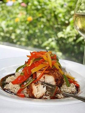 Ridgway's offers its black grouper special only once a month and it's best to make a reservation.