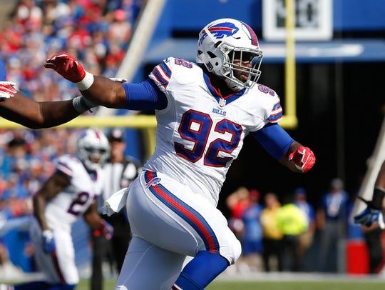 Buffalo defensive tackle and Cincinnati native Adolphus
