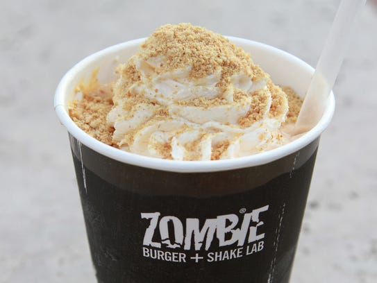 Pumpkin Pie Shake from Zombie Burger