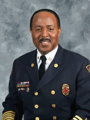 Indianapolis Fire Deptartment Chief Ernest Malone