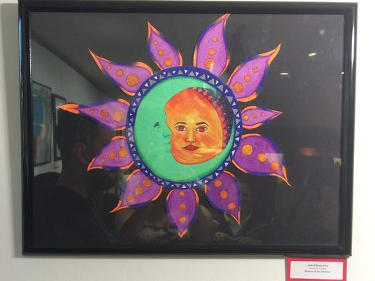 Two Plainfield visual art students, Michael Cruz, 8th Grade, and Jaded Baracaldo, 9th Grade, were chosen to have their artwork tour with the Teen Art Festival for the year. Also, Jaded's artwork, out of over 500 pieces, was chosen as top 20 and received a NJ State Teen Art Festival certificate.