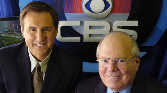 Verne Lundquist and Gary Danielson will broadcast a host of SEC games on CBS in 2015.