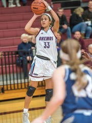 Okemos junior Laya Hartman hopes she is good enough
