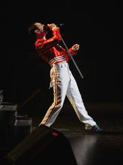 "Gary Mullen fronts The Works in character as Queen's iconic frontman Freddie Mercury. The band will perform ""One NIght of Queen"" March 18 at Tuacahn Amphitheatre in Ivins City."