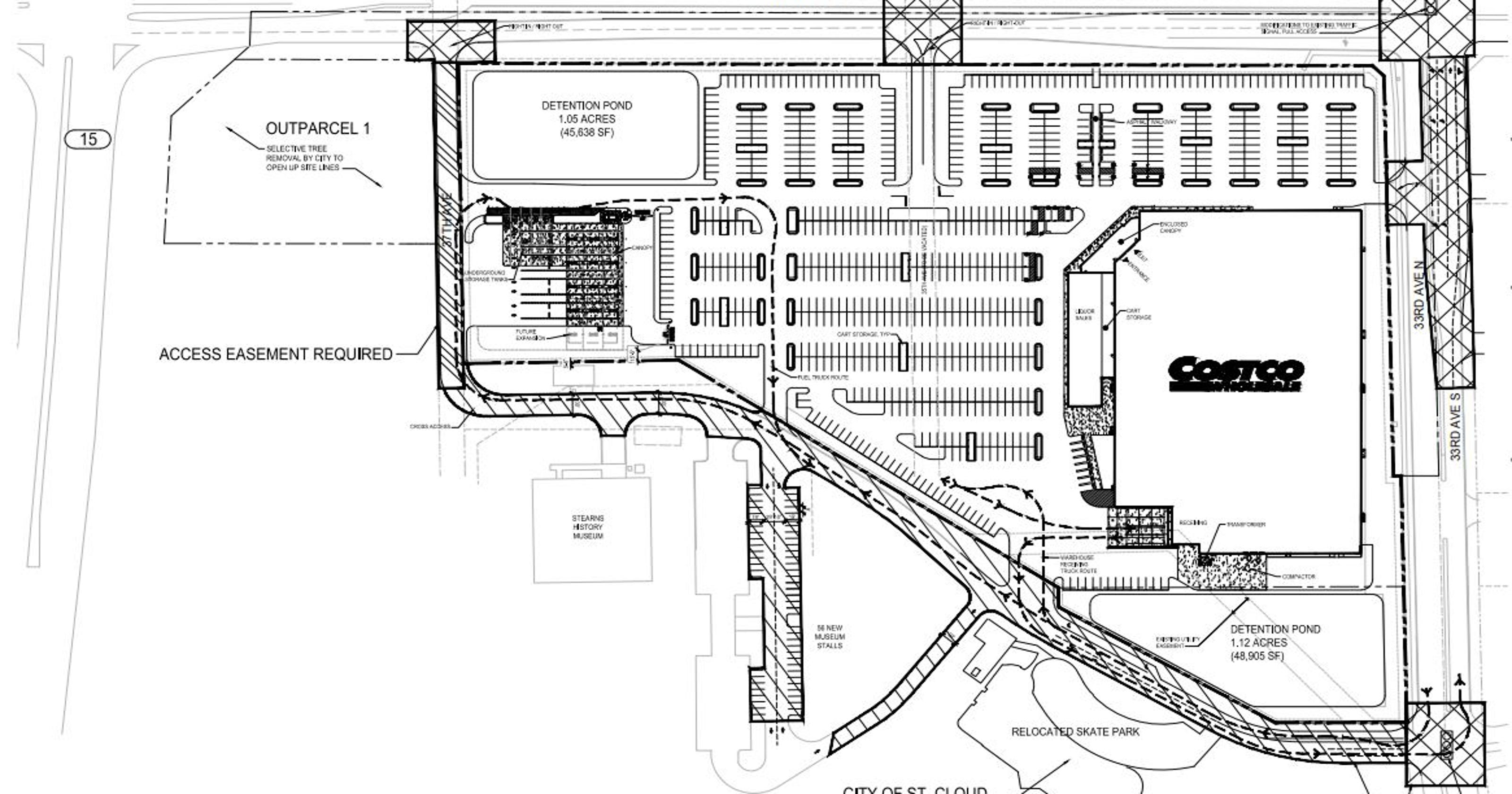 Costco offers St. Cloud $3.53M to build at Heritage Park