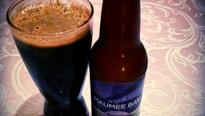 Total Eclipse Breakfast Stout, from Maumee Bay Brewing Company in Toledo.