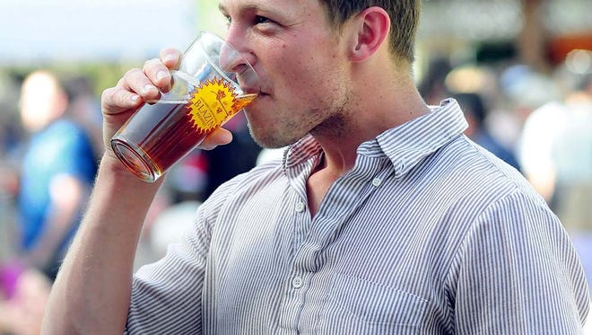 Over the years, Blazin' Brewfest has become a Downtown staple.