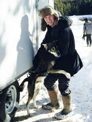 As a handler, Chase Bruggeman takes care of Zipper's needs.