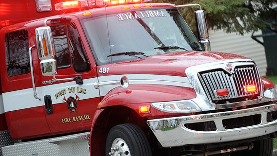 Fond du Lac Firefighters respond to report of possible ammonia leak on city's south side.