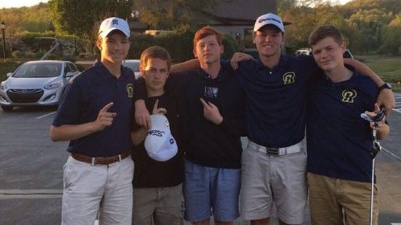 Roberson's golf team won the Mountain Athletic Conference championship.