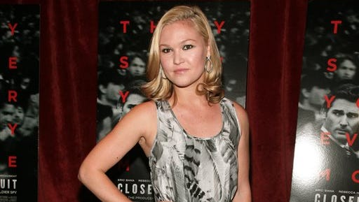"Actress Julia Stiles attends a screening of ""Closed Circuit"" in New York. The Emmy Award- and Golden Globe-nominee stars in the one-act dark romantic comedy ""Phoenix"" by Scott Organ at the intimate Cherry Lane Theatre, which the actress calls ""really charming and really romantic."""