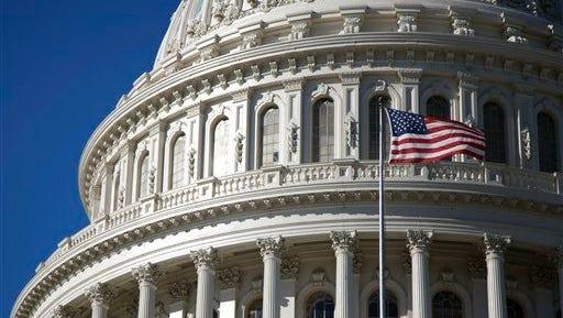 The U.S. Capitol building in 2011.