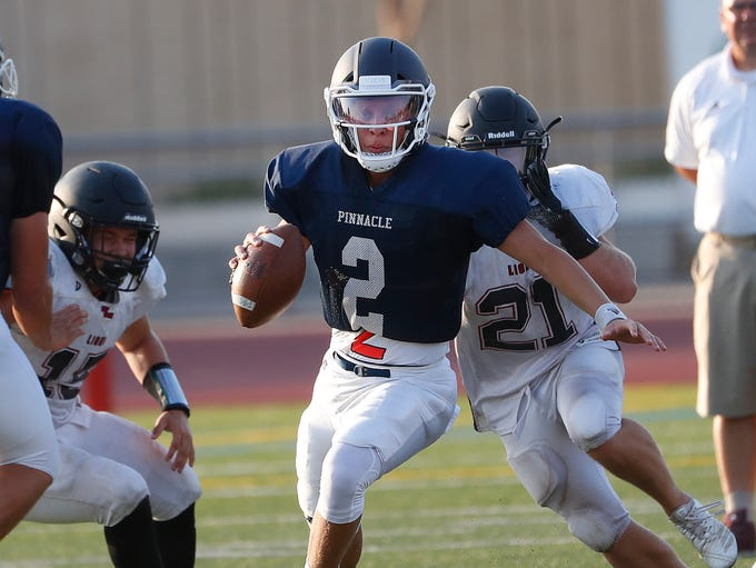 Quarterback - Spencer Rattler, Phoenix Pinnacle, 6-2,