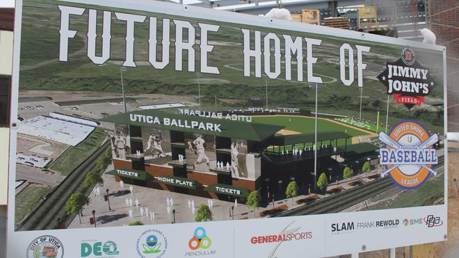 Jimmy John's Field in Utica will be the site of the three-team United Shore Professional Baseball League.