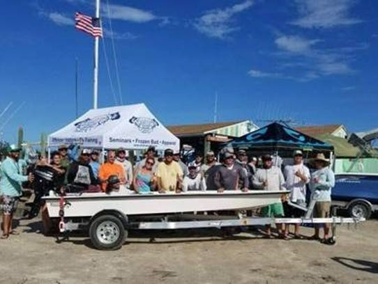 The 14-foot long Billfish Boatworks flats skiff built