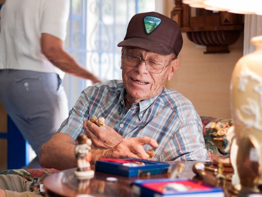 Bill Harrell finds a collection of figurines to add