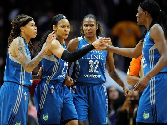 WNBA: Finals-Minnesota Lynx at Los Angeles Sparks