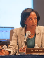 BCPS Superintendent Dr. Linda Hicks makes her recommendations
