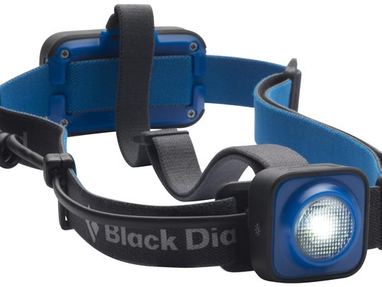 Headlamps are great for hiking, trail running and camping.