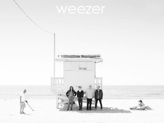 Weezer's new self-titled album, also referred to as
