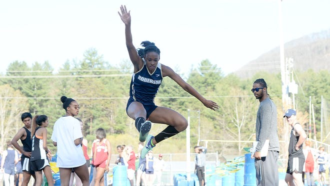 Roberson senior Michelle Cobb has signed with the N.C. State track program.