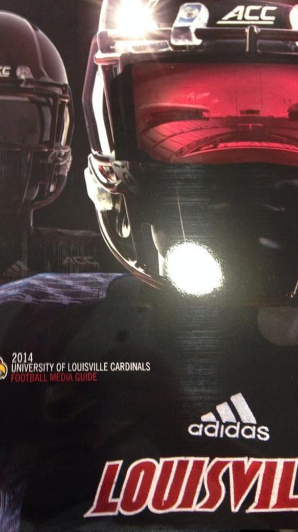 media guide cover football 2014