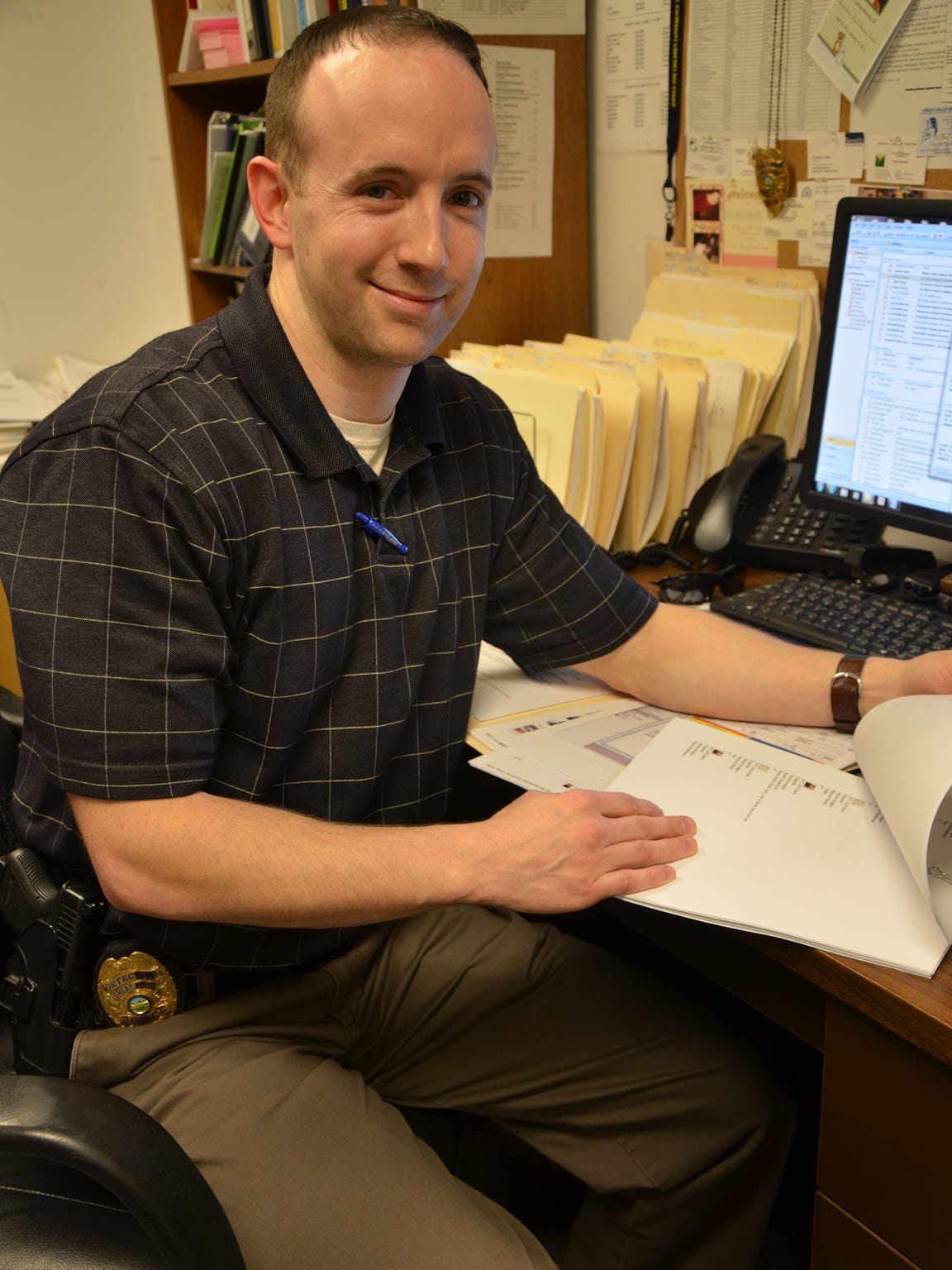 Great Falls Police Detective Adam Price works 25 to