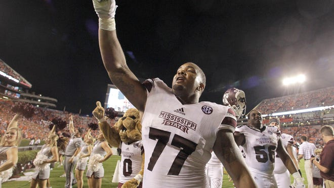 Mississippi State offensive lineman Rufus Warren says he's healthy heading into the matchup with Alabama.