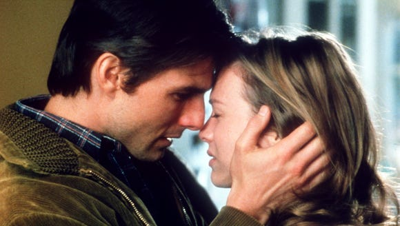 Tom Cruise and Rene Zellweger star in 'Jerry Maguire.'