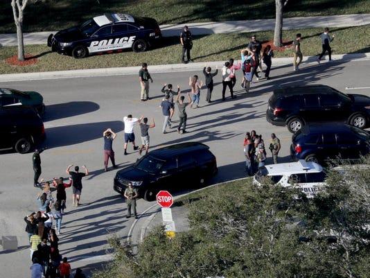 AP CORRECTION SCHOOL SHOOTING FLORIDA A USA FL