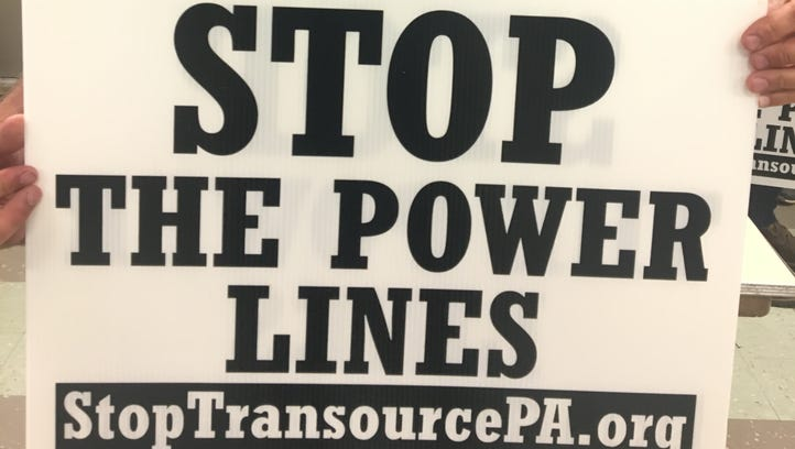 Opponents to power line in Franklin Co. organize fight at the PUC